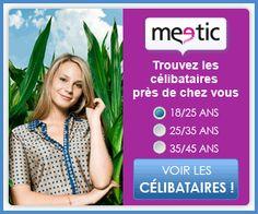 Meetic est l'un des sites de rencontres les plus connus et les plus fréquentés qui permet de cherche un(e) partenaire près de chez soi.