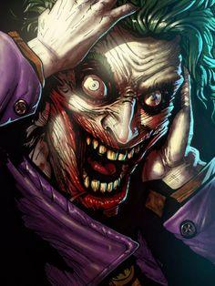 I hope its creepy enough for you guys! Joker commission I colored. - Batman Canvas Art - Trending Batman Canvas Art - I hope its creepy enough for you guys! Joker commission I colored. Le Joker Batman, Joker Clown, Joker Art, Batman Art, Joker And Harley Quinn, The Joker, Gotham Batman, Batman Robin, Joker Images