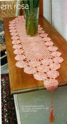 MB Crochê: Caminho de mesa