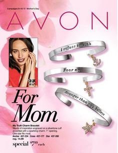 "Mothers Day Outlet has arrived and its featuring My Truth Charm Bracelets. Its Silvertone cuffs with goldtone charms. 1"" opening. One size fits most.  Anchor: I refuse to sink Cross: Fear me not Star: Stronger than you believe Great Mothers Day gift or Birthday even Anniversary. #bracelet #jewelry #giftsforher #mothersdaygift #charms #sale #outlet"