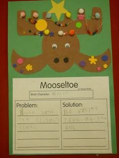 The students had sooo much fun decorating their moose.         Mooseltoe Writing  Moose 1   Moose 2   Click HERE  to...