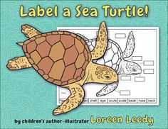 Label a Sea Turtle, Wooly Mammoth, or Allosaurus! PRINTABLES!  Labeling a diagram requires linking the word with an image, which activates multiple pathways in the brain—always a good thing!