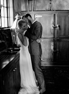 Moments Before the Wedding Ceremony:  An Intimate Elopement