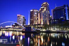 Melbourne Blue Hour daleholmanmaine.com