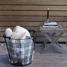 Cesto para lenha e arrumação, bruce Am.Pm. | La Redoute