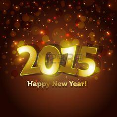Imagen de http://us.123rf.com/450wm/bymandesigns/bymandesigns1405/bymandesigns140500043/29073151-golden-2015-happy-new-year-greeting-card-with-sparking-spot-lights-background.jpg.