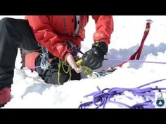 2 Person Rope Team Crevasse Rescue - YouTube