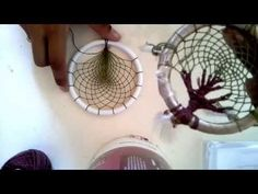 Tree of life dreamcatcher tutorial Teneriffe, Dream Catcher Mandala, Dream Catcher Tutorial, Jute Crafts, World Crafts, Original Gifts, Macrame Projects, String Art, Tree Of Life
