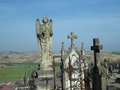 a cemetery somewhere in France..