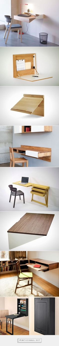 Space Saver: 22 Wall Mounted Desks To Buy Or DIY | Brit + Co