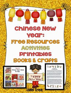 LMN Tree: Chinese New Year: Free Resources, Activities, Printables, Books, and Crafts
