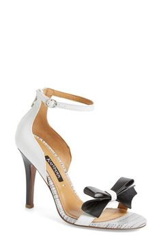 Kay Unger 'Baroque' Ankle Strap Sandal (Women) available at #Nordstrom