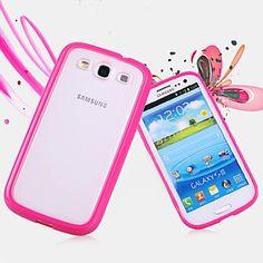 grote d matte soft brutaler case voor Samsung Galaxy S3 i9300 (verschillende kleuren) – EUR € 1.89