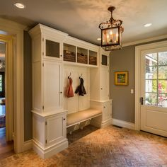 Custom Coat Rack & Mud Room Bench Design Ideas, Pictures, Remodel and Decor