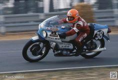 A ce bol, il y avait la N°38, engagée par Arcueil Motor, pilotée par Danzer-Fitzau, 980 également, abandon à la 13e heure, c'est une moto bien connue la fameuse RS3, survivante de cet age d'or.