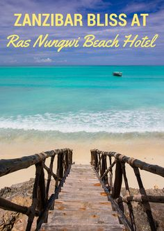 Ras Nungwi Beach Hotel in Zanzibar: the setting of a tropical paradise with impeccable, personalized service. It's luxury travel at its best.