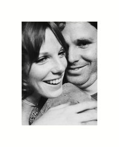 Jim Morrison and Pamela ♡ James Douglas Morrison 1943-1971. #JimMorrison #TheDoors #Music #Rock #PamelaCourson #27Club