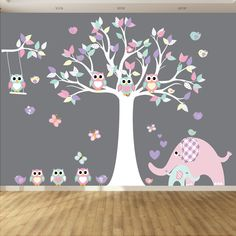 Vinyl Wall Decal Nursery Wall Decal Play Room by wallartdesign