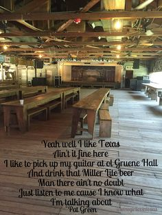 Inside Gruene Hall Oldest Dance Hall In Tx And One Of
