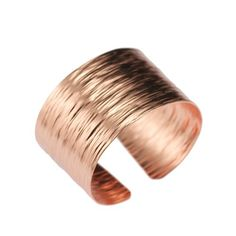 Bark Copper Cuff Bracelet by John S Brana Handmade Jewelry – High-quality Durable Copper – Lightweight – Anti-tarnish Lifetime Guarantee
