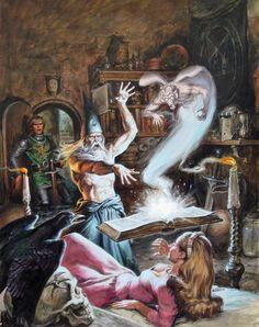 Ha muerto Earl Norem, adiós a uno de los grandes del arte fantástico ~ La Espada en la Tinta: Literatura fantástica y cómics