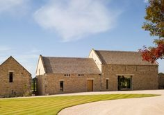 Old Stone Barn Conversion in Cotswold by McLean Quinlan Architects