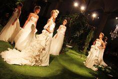 Le Jardin Suspendu, nuova collezione di abiti da sposa, di Enzo Miccio