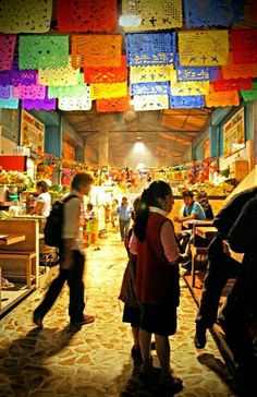 Mercado en Oaxaca.