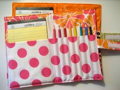 For pens/pencils/highlighters and a book? More practical for a college student. :)