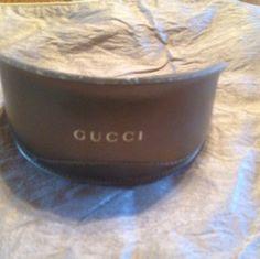 Check out Gucci Gold Eyeglass Case on Threadflip!