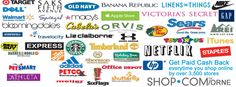 Get paid cash back from over 3,000 stores you're already shopping. #shopping #deals #coupons #internetfranchise
