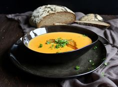 Birnen - Currysuppe
