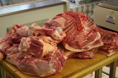 Lessons From My Butcher: Breaking Down a Pig - And Here We Are