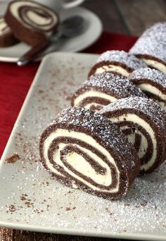 Bringing Back Childhood Memories: #Keto Chocolate Roll Cake!