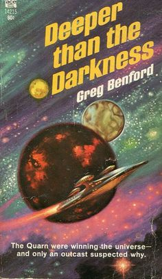 Author: Greg Benford Publisher: Ace 14215 Year: 1970 Print: 1 Cover Price: $0.60 Condition: Very Good Light wear and tanning Genre: Science Fiction