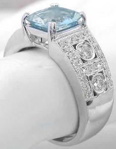 Aquamarine Ring (GR-1083)