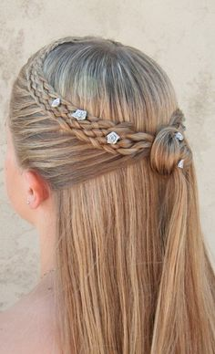 Dutch 5 strand mermaid lace braid hairstyle