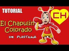 Tutorial El Chapulín Colorado de Plastilina - YouTube