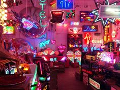 God's Own Junkyard: Neon wonderland by the late great Chris Bracey - Walthamstow - has a cafe
