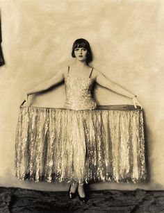 Louise Brooks, during her Ziegfeld Girl era Photo: Alfred Cheney Johnston