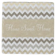 Shop Burlap Colors Chevron Stripes Stone Coaster created by Personalize it with photos & text or purchase as is! Tabletop Accessories, Stone Coasters, Custom Coasters, Hostess Gifts, House Warming, Your Design, Chevron, Burlap, Backdrops