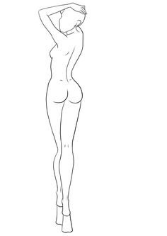 Fashion Template 31 | I Draw Fashion #figurines