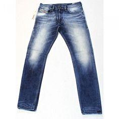 Diesel Tepphar 887V Mens Jeans   DNA   Dirty New Age   Light Time Exposure    0887V   Skinny   Carrot   Diesel Jean Sale   UK   Designer Man 3d1d685088