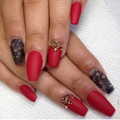 Lace and Matte LOOOVE