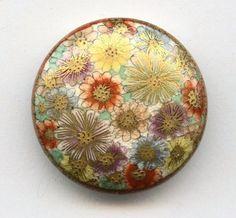 Vintage Satsuma Button. #ボタン #BUTTON