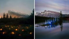 Landscape Light Installations by Barry Underwood (9 Pictures)