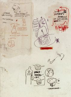 rubenista: Untitled by Jean-Michel Basquiat... - Colour and MovementMore Pins Like This At FOSTERGINGER @ Pinterest