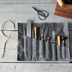 Waxed Canvas Tool Ro