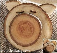 crafts with tree branch slices Tree Branch Crafts, Tree Crafts, Tree Branches, Trees, Wood Slice Crafts, Wooden Crafts, Driftwood Crafts, Wood Projects, Woodworking Projects