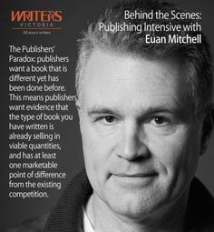 Euan Mitchell at Writers Victoria https://writersvictoria.org.au/calendar/events/behind-the-scenes-publishing-intensive